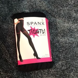 SPANX High waisted Tights Opaque Black Size F